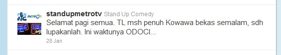 odoci stand up comedy metro tv