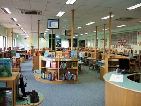 perpustakaan sekolah smp